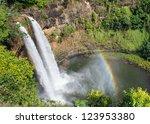 Wailua Falls  An 80 Ft. High...