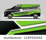 van wrap design for company ...   Shutterstock .eps vector #1239535243