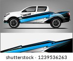 truck wrap design for company ... | Shutterstock .eps vector #1239536263