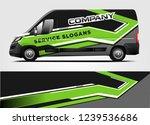 van wrap design for company ...   Shutterstock .eps vector #1239536686