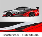 sport car racing wrap design.... | Shutterstock .eps vector #1239538006