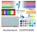 a great creative set for... | Shutterstock .eps vector #1239553000