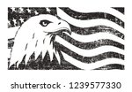 bald eagle symbol of north... | Shutterstock . vector #1239577330