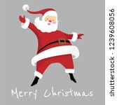 santa claus is  coming to town | Shutterstock .eps vector #1239608056