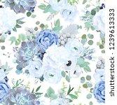 seamless vector design pattern... | Shutterstock .eps vector #1239613333