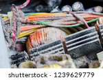 the computer power supply in... | Shutterstock . vector #1239629779