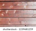 natural brown wood. door  wall ... | Shutterstock . vector #1239681259