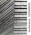 natural wood for door  wall ... | Shutterstock . vector #1239688333