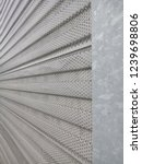 metal surface. gray background. ... | Shutterstock . vector #1239698806