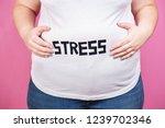 stress  mind problems  bulimia  ... | Shutterstock . vector #1239702346