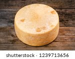 whole round cheese parmesan or...   Shutterstock . vector #1239713656