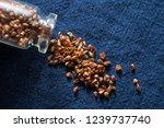 traditional food  black bitter | Shutterstock . vector #1239737740