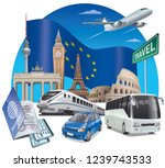 concept illustration of... | Shutterstock .eps vector #1239743533
