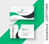 professional elegant green... | Shutterstock .eps vector #1239774349