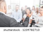 business coach. team leader... | Shutterstock . vector #1239782713