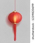 Festive Chinese Red Lantern...