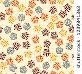 seamless pattern. abstract... | Shutterstock .eps vector #1239841363