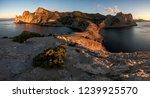 dawn at cape kapchik  novy svet ... | Shutterstock . vector #1239925570