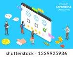 isometric flat vector concept... | Shutterstock .eps vector #1239925936