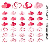 Red Double Heart Collection...