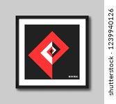 wall frame for picture or... | Shutterstock .eps vector #1239940126