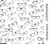 eyesight glasses with various... | Shutterstock .eps vector #1239942496