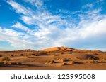 Sahara Desert Landscape...