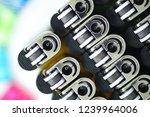 stock of gas lighter. plastic...   Shutterstock . vector #1239964006