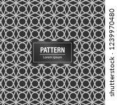 geometric pattern background.... | Shutterstock .eps vector #1239970480