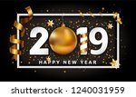 new year typographical cretaive ... | Shutterstock .eps vector #1240031959