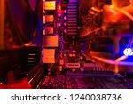 inside a high performance... | Shutterstock . vector #1240038736