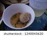 vietnamese meat ball  xiu mai . ...   Shutterstock . vector #1240043620