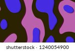 background in paper style.... | Shutterstock . vector #1240054900