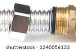 fittings for pipe fastening.... | Shutterstock . vector #1240056133