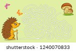 maze game for kids with... | Shutterstock .eps vector #1240070833