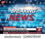 background screen saver on... | Shutterstock .eps vector #1240078549