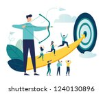 vector illustration of a... | Shutterstock .eps vector #1240130896