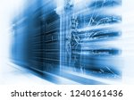 motion blur  concept of... | Shutterstock . vector #1240161436