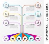infographic design template....   Shutterstock .eps vector #1240161856