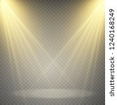 light sources  concert lighting ... | Shutterstock .eps vector #1240168249