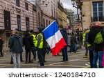 paris  france  november 24... | Shutterstock . vector #1240184710