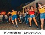 july 21  2018   minsk belarus... | Shutterstock . vector #1240191403