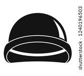 special force helmet icon.... | Shutterstock .eps vector #1240196503