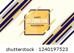 anniversary celebration... | Shutterstock .eps vector #1240197523