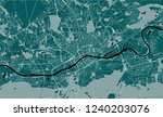 vector map of the city of... | Shutterstock .eps vector #1240203076