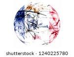 iowa fireworks sparkling flag...   Shutterstock . vector #1240225780