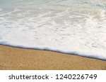 waves with ... | Shutterstock . vector #1240226749