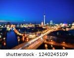 city of berlin  germany | Shutterstock . vector #1240245109