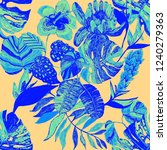 creative seamless pattern with...   Shutterstock . vector #1240279363