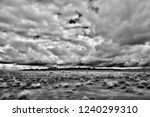 sonora desert in infrared... | Shutterstock . vector #1240299310